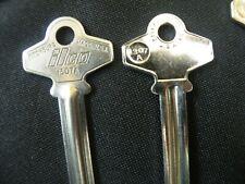 LOCKSMITH NOS 34 Key Blanks Ilco brand 1307A SC6 Schlage locks vintage USA