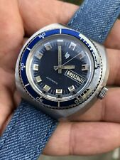 Vintage Lip Automatic Mens Diver Watch All Steel Duromat 40mm