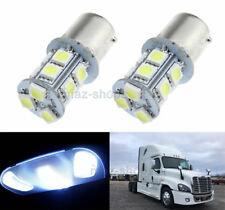 2x White Interior 1156 LED Dome Sleeper Cab Light Bulb For Freightliner Cascadia