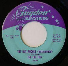TAK TIKS 45 The Nut Rocker/Let's Get Lost... GUYDEN rock instrumental VG+ d2096