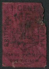 British Guiana  1852  Scott #    6   USED - Damage