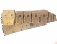 Original WWI US Ammo Belt w/ 45 Cal. Ammo Pouch
