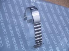 Seiko 17 mm Reloj Correa de pulsera de acero inoxidable cepillado plana Stelux lugears