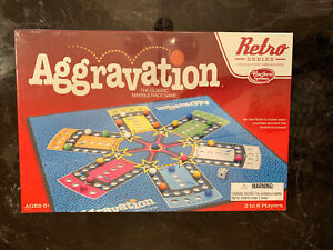 NEW SEALED AGGRAVATION MARBLE RACE BOARD GAME 2015 RETRO SERIES 1989 EDITION