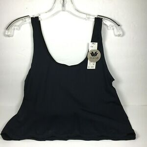 WACOAL Touch Camisole Tank Top Size L Black Style 81208
