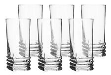 Set of 6 Juice Highball Drinking Glasses 335 ml Water Cocktail Tumblers Cups New