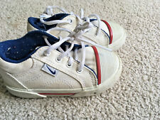 2001 Nike Retro Baby Infant Size 56C Toddler Shoes CANVAS rubber bump toe