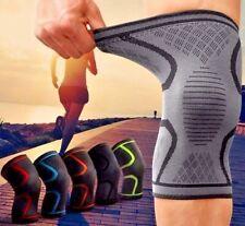 2 x  Compression Knee Support Sleeve Bandage Strain/Sprain Injury Running 641 uk