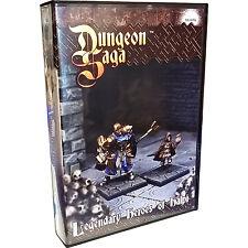 Dungeon Saga, Legendary Heroes of Halpi, New by Mantic