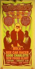 Box Car Racer Good Charlotte Silk Screen Poster Blink-182 Blink182 Blink 182