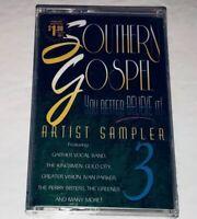 Southern Gospel You Better Believe It Artist Sampler Vol 3 Gospel Cassette 1S