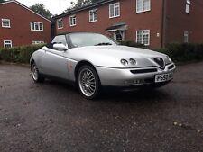 1996 Alfa Romeo Spider 20 T spark 16v 71400 miles substantial history year mot