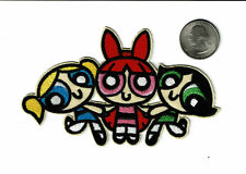 Powerpuff Girls Iron on embroidered Patch Free Shipping girl power patches