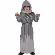 Restless Spirit Costume for Boys size Medium Ghost Robe w/Chain Halloween Party