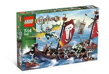 Lego 7048 Castle Troll Warship ** Sealed Box ** Dwarfs Dragon