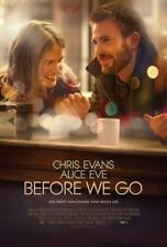 Before We Go Movie Poster 24in x36in
