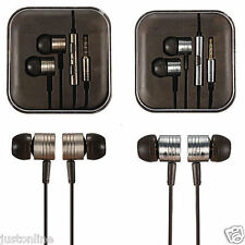 Per iPhone Samsung 3.5mm Pistone In-Ear Stereo Auricolari Auricolari Headset per cuffie