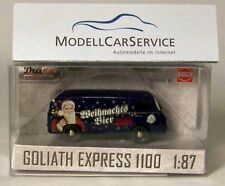 "Busch/dreika 1/87 : 94023 Goliath Express ""Kulmbacher de Vagón- cerveza Navidad"""