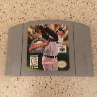 Major League Baseball Ken Griffey Jr. for N64 Nintendo 64 Authentic Tested Works