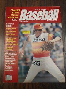 1980 Street & Smith Baseball Yearbook ⚾ Joe Niekro Houston Astros Cover NO LABEL