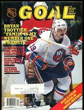 NHL Goal Magazine December 1984 Bryan Trottier EX w/ML 012717jhe