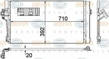 8FC 351 343-014 HELLA Kondensator Klimaanlage