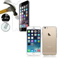 Housse Etui Coque Gel UltraSlim Parfait Apple iPhone 6/ 6S + Film Verre Trempe