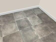 Heavy Duty Grey Slate Stone Tile Vinyl Cushion Flooring, Roll Lino 2m / 4m Cheap