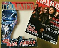 Iron Maiden Collectors Card Sleeve issue Metal Hammer October 2003 Metallica