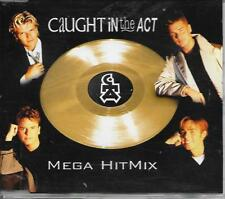 CAUGHT IN THE ACT - Mega Hitmix CD SINGLE 2TR Europop 1999 (Zyx) Germany