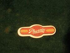 1930's Phoenix Lager Beer Neck Label ~ Bay City, Michigan Mint Original~ Aisle P