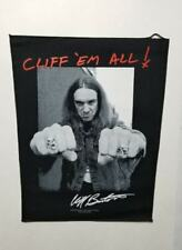 Metallica Cliff em All Back Patch