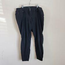 Torrid Black Skinny Leg Jeans Size 20R