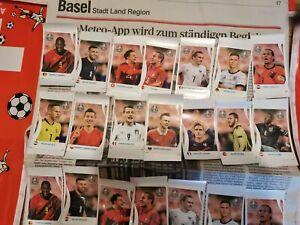 PANINI EURO 2020 Pearl Edition Coca Cola Stickers