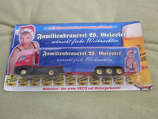 Advertising TRUCK LORRY Family Brewery Geissler Bow Riding Tail TRUCK MODEL NEW & OVP