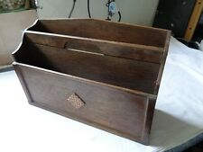 Vintage Wooden Letter Rack / Box - Please See Pictures for Details.