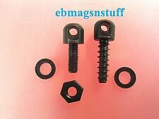 2 Sling Swivel Mounting Screws for Wood or Synthetic Rifle Stock / Generic + New