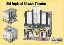Building instructions, consist of LEGO element - Old England Classic Theater