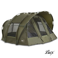 "Lucx Carp Tent Bivvy 1, 2, 3 Mann Fishing "" Leopard "" Dome Camping"