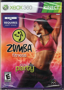 ZUMBA Fitness JOIN THE PARTY for XBOX 360 ONE on KINECT of DANCE Workout HIP-HOP