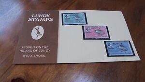 LUNDY ISLAND STAMP PRESENTATION PACK, WILLIAM SHAKESPEARE