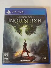 Dragon Age: Inquisition (Sony PlayStation 4, 2014) PS4