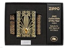 ZIPPO ★ ART DECO (2021 collectible of the year - Swarovski crystal - 1 of 5000)