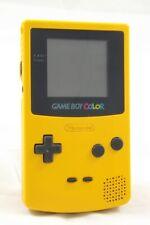 Nintendo Game Boy Color Handheld Spielkonsole Gelb GBC - GUT