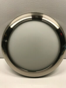 Harbor Breeze 41695 Sail Stream Brushed Nickel LED Glass Light Cover Only