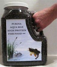 "Purina Aqua Max 600 High Protein Fish Food  5/16"""