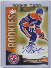 2011-12 UD Upper Deck Ryan Nugent-Hopkins NHCD Auto Rookie RC (Extremely Rare)