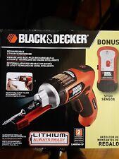 Black & decker drill with stud sensor