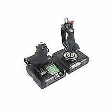 Logitech G Saitek X52 Pro Flight Control System - Sistema de Control para Simuladores - Negro