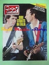 rivista CIAO 2001 40/1982 Dire Straits Neil Young Vecchioni Patti Smith  No cd